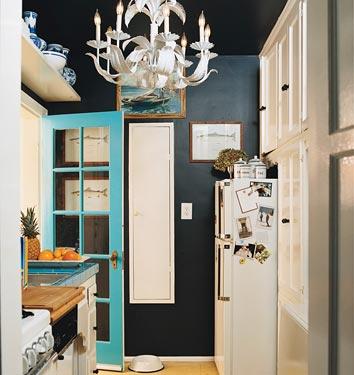 Black Walls Kate Collins Interiors