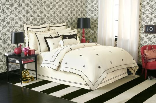 Kate Spade Bedding | Kate Collins Interiors