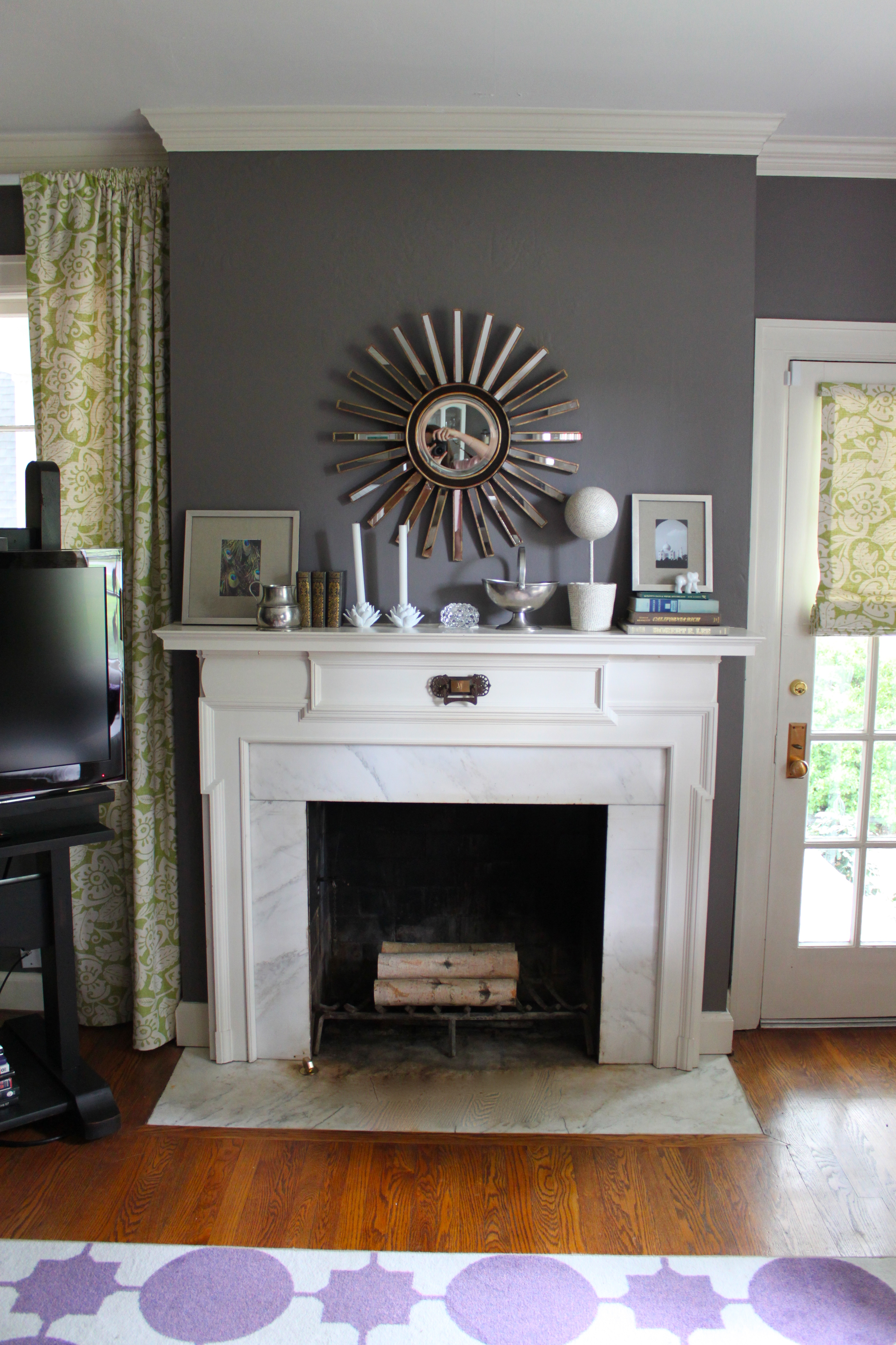 Living Room Before and After   Kate Collins Interiors
