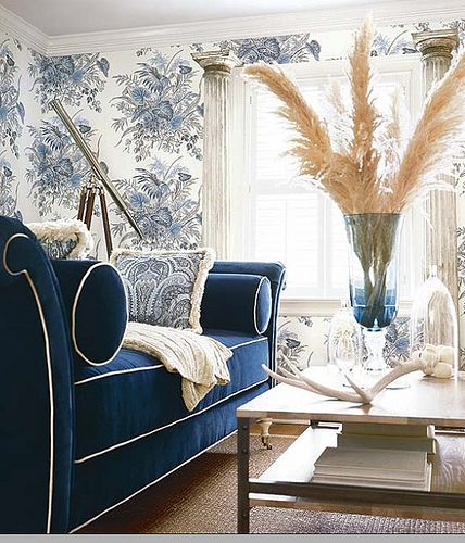 To pipe or not to pipe kate collins interiors for Navy blue sectional sofa with white piping