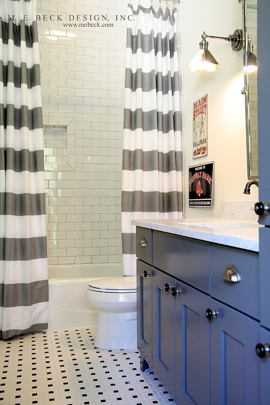 Dramatic Shower Curtains