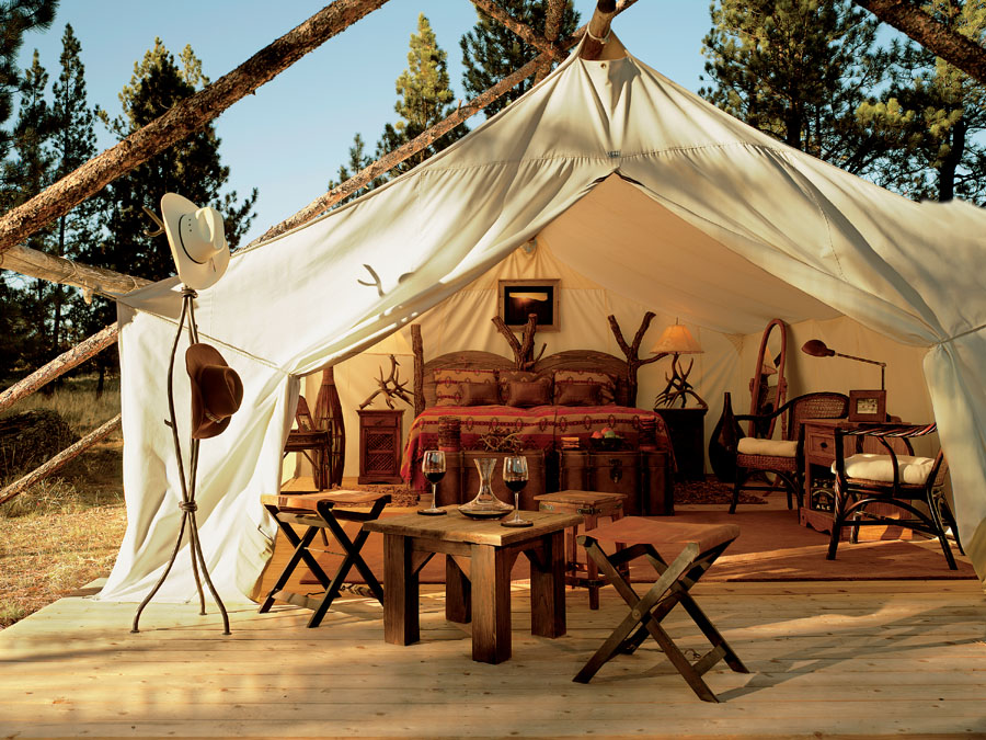 You Down With Glamping Kate Collins Interiors