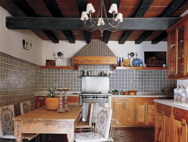 Cinco de mayo kate collins interiors for Mexican style kitchen pictures