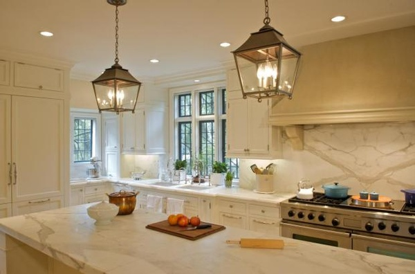 Don t forget the pendants kate collins interiors for Over the kitchen sink pendant lights