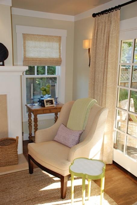 chair:drapes