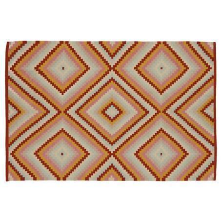 step-cut-diamond-rug