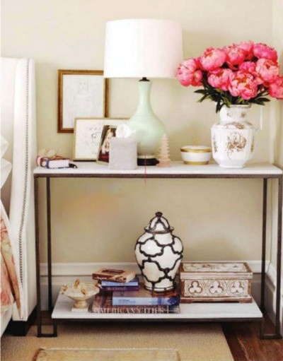 bedside table console