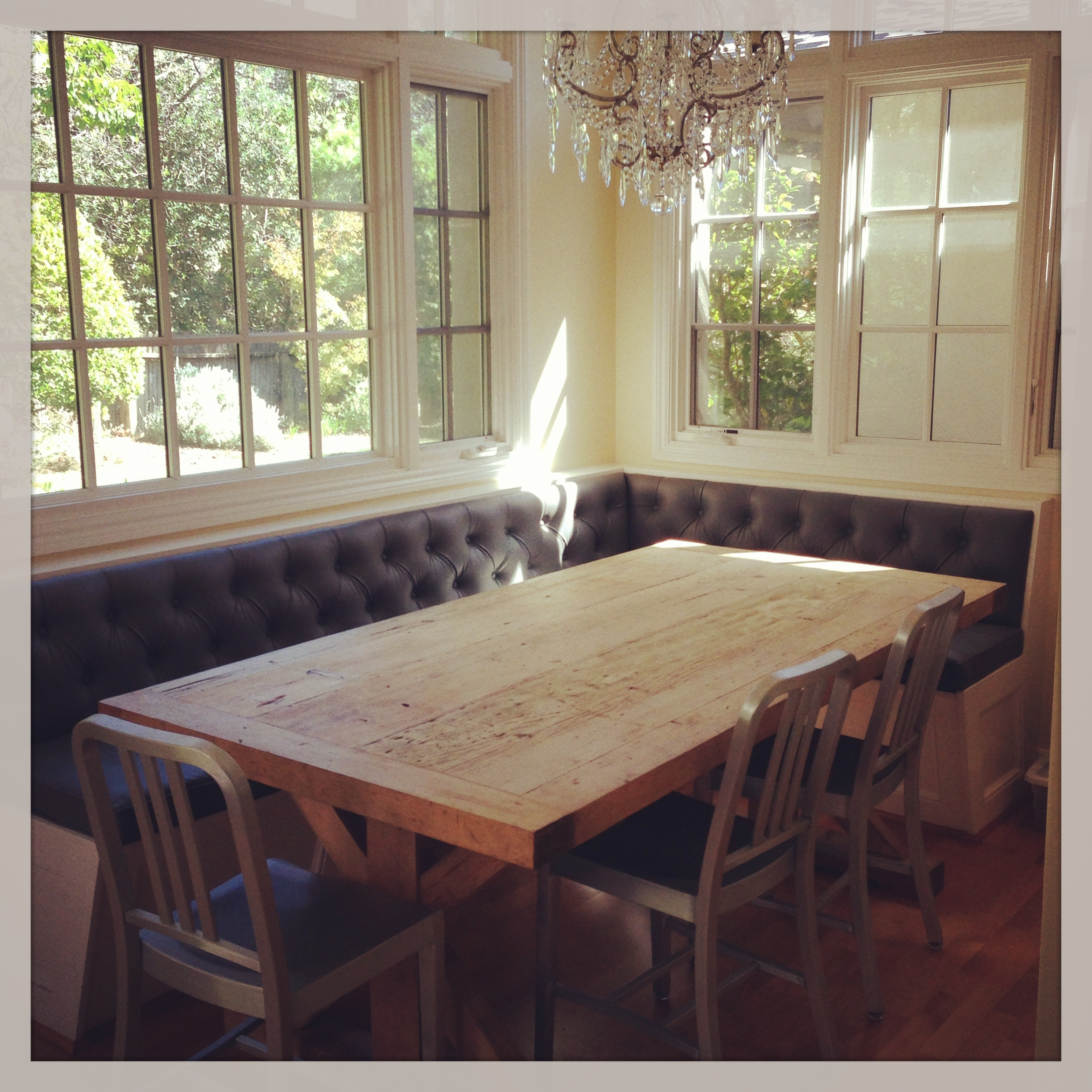 Breakfast Nook: Before And After